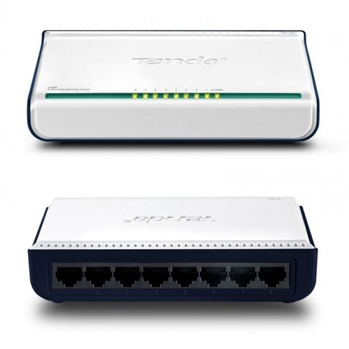 TENDA 8-PORT FAST DESKTOP SWITCH דגם S108